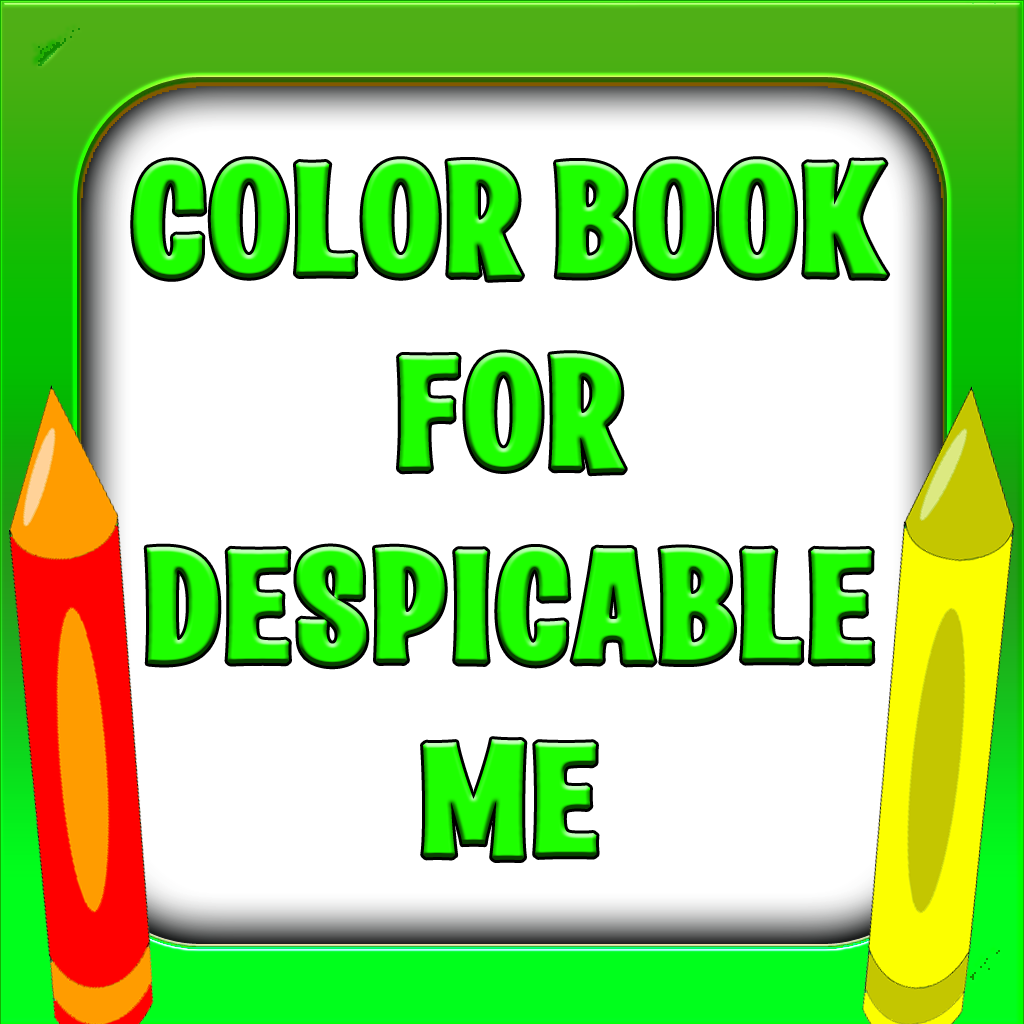 Unofficial Coloring Book for Despicable Me